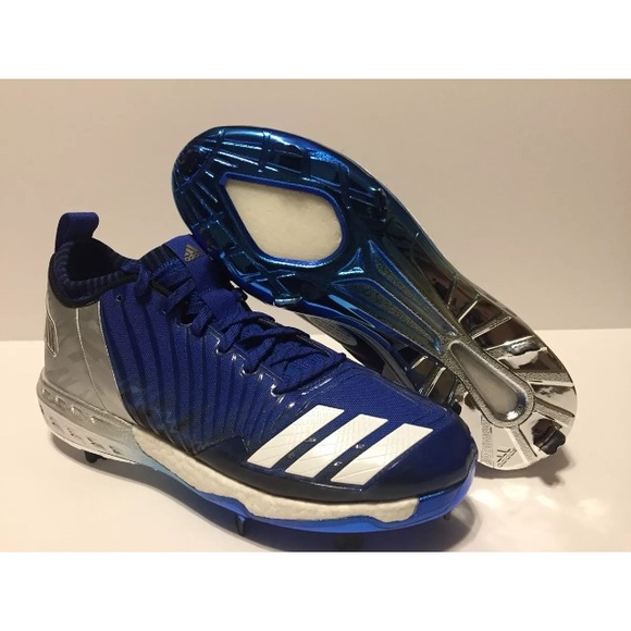 3d32c534c8a7 adidas Shoes | Boost Icon 3 Metal Cleats Blue Size 125 | Poshmark